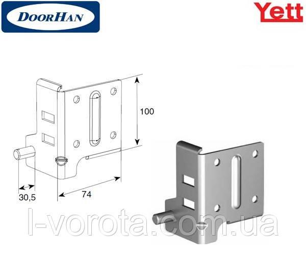 Нижний угловой кронштейн для гаражно-секционных ворот DoorHan Yett (Y314N)