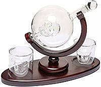 "Набор для виски ""Доктор Фауст"" штоф стекло 850 мл и 2 стакана (640002)"