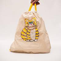 Рюкзачок детский с ручной росписью.