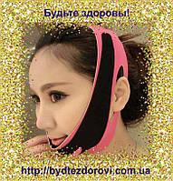Маска-бандаж для коррекции овала лица (второй подбородок, щеки).