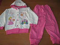 Детский костюмчик для маленькой девочки Принцеса 80 Турция интерлок