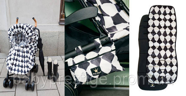 Вкладыши и дождевики Elodie details для колясок любого типа