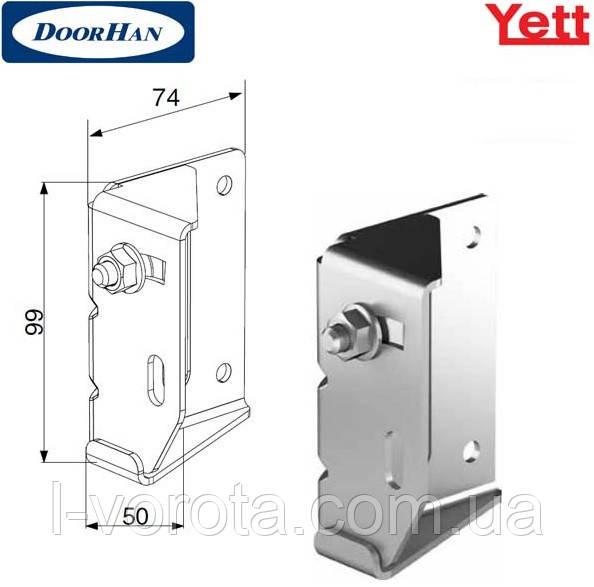 Верхняя опора регулируемая для гаражно-секционных ворот DoorHan Yett (Y032N)