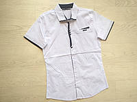 Рубашка для мальчика белая р. 134, 158, фото 1