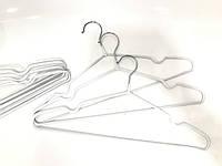 Вішалки з покриттям 10 шт білі, фото 1
