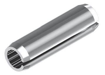 Штифт пружинный разрезной с двумя фасками DIN 7346 1.5 х 5 (Без покрытия) 10 шт