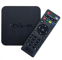 Приставка ТВ Приставка MXQ-4K, Смарт ТВ