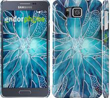 "Чехол на Samsung Galaxy Alpha G850F чернило ""4726c-65-535"""