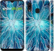 """Чехол на Samsung Galaxy A20e A202F чернило """"4726c-1709-535"""""""