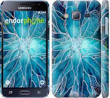 "Чехол на Samsung Galaxy J3 Duos (2016) J320H чернило ""4726c-265-535"""