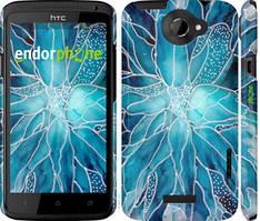 """Чехол на HTC One X чернило """"4726c-42-535"""""""