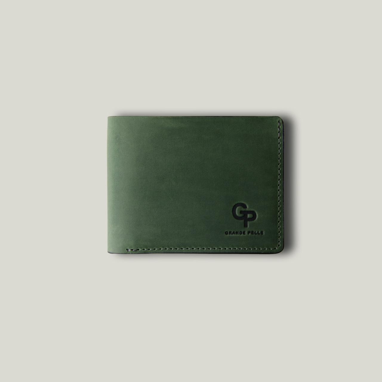 Портмоне Onda, зеленый матовый