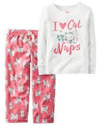 Carters Набор двойка пижама для девочки на 24 месяца