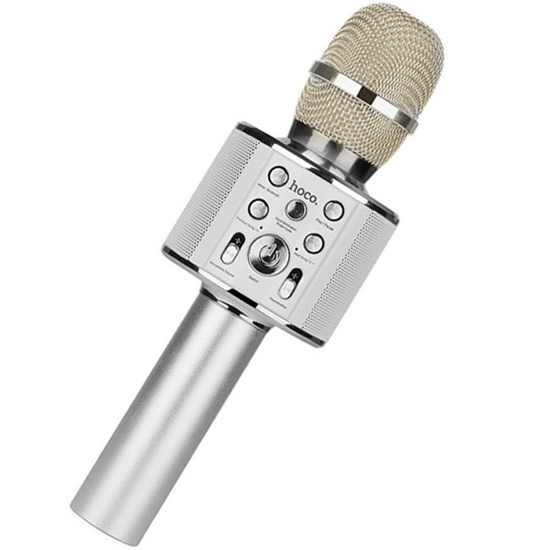 Беспроводной Bluetooth микрофон караоке WS-858