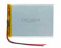 Мощный аккумулятор для планшета (3000 мАч) 357095 мм - Bravis, ImPAD, Nomi 3.7v 3000mAh универсальная батарея