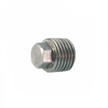 Резьбовая заглушка коническая дюймовая DIN 909 1/4 (Без покрытия) 1 шт
