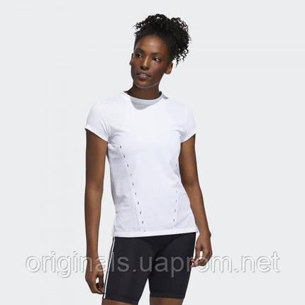 Женская футболка adidas Tee White FH8070 2020, фото 2