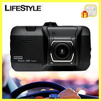 Автомобильный видеорегистратор DVR D 101 6001 HD + Подарок!