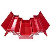 Ящик для инструмента металлический 430мм 5 отсеков (Харьков) ЯЩ430-5