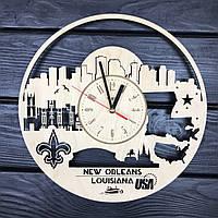 Интерьерные часы на стену «Новый Орлеан, Луизиана», фото 1