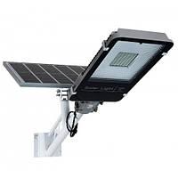 Світлодіодний світильник з сонячною панеллю 100w, фото 1