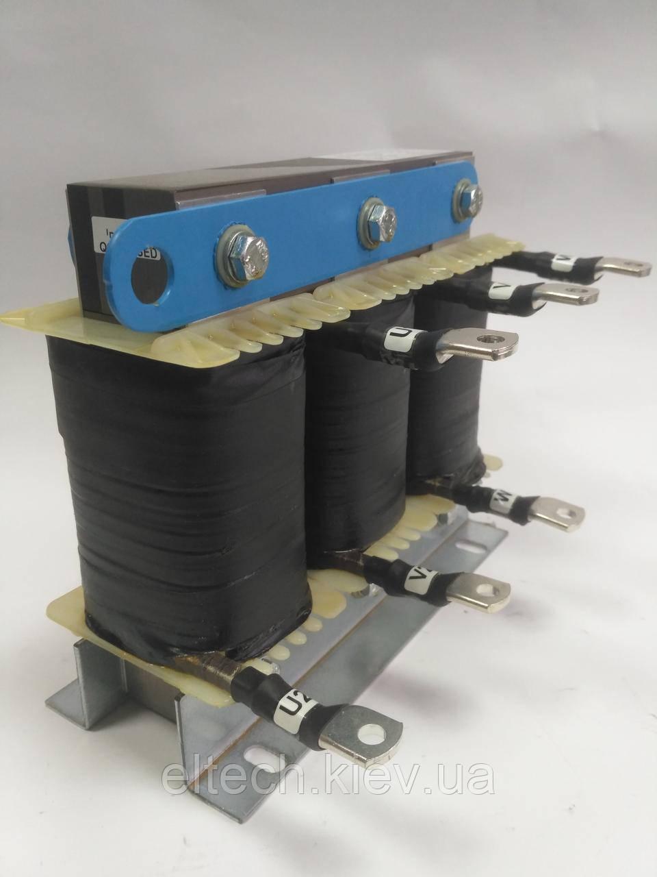 INS 3-400-400; 400А, трехфазный сетевой дроссель 4%