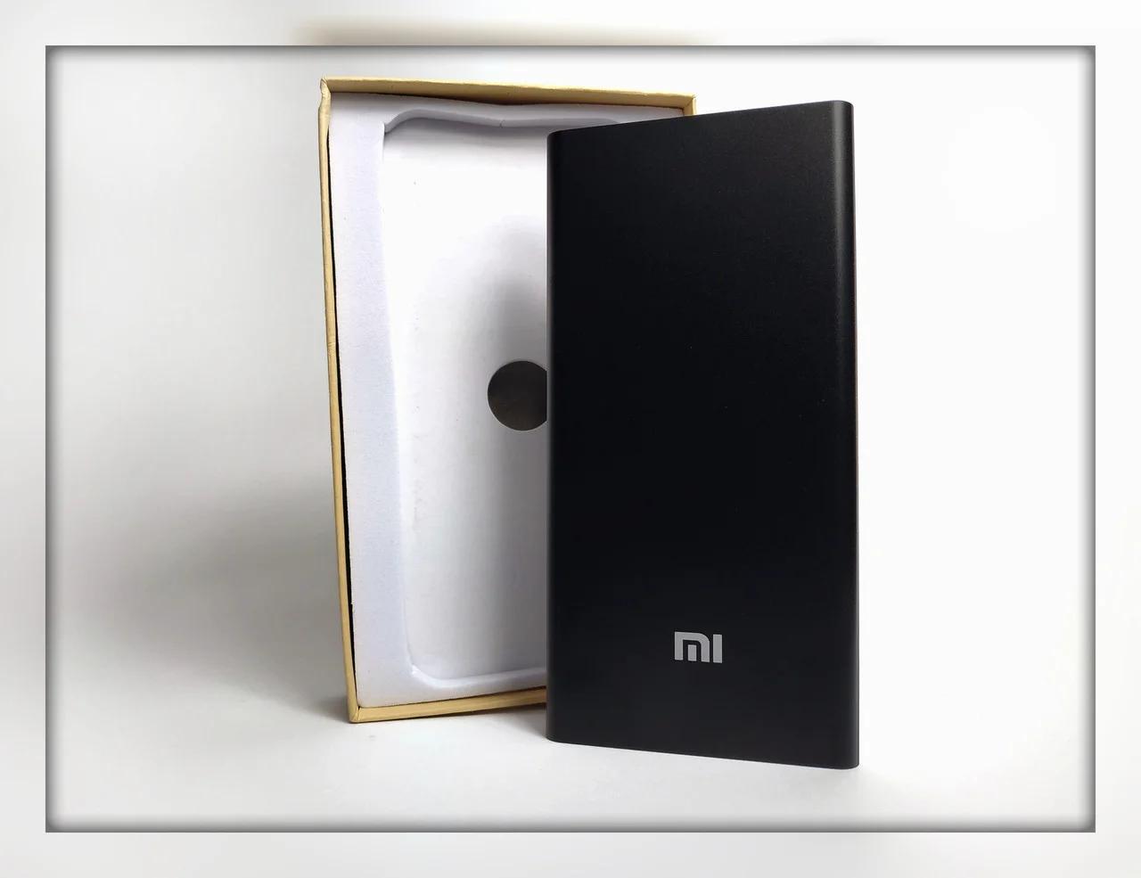 Power Bank Xiaomi Mi 24000 mAh Черный USB  повер банк металл