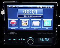 Автомагнитола 1din Pioneer GBT-7100S - Выдвижной Экран  - Bluetooth + Пульт