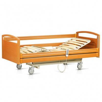 Функциональная кровать с электроприводом, медицинская OSD-NATALIE-90 CM (больничная койка, 4-х секци