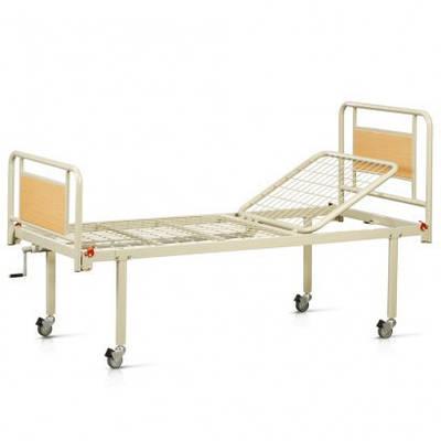 Кровать металическая функциональная двухсекционная на колесах OSD-93V+OSD-90V