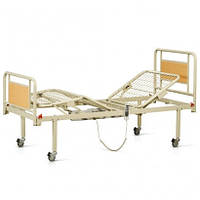 Кровать функциональная с электроприводом на колесах 4 секции OSD-91V+OSD-90V для лежачих больных