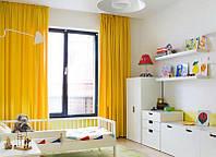 Желтые Шторы в Комнату! Любые размеры. Цена с пошивом.