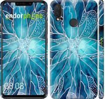 "Чехол на Huawei P Smart Plus чернило ""4726c-1555-535"""