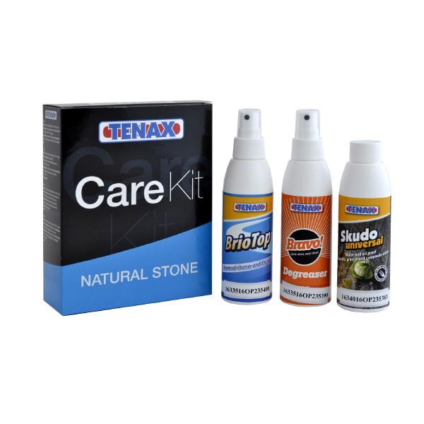 Набор по уходу за мрамором и гранитом Care Kit Natural Stone TENAX