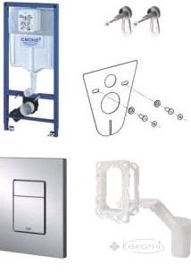 Инсталляционная система Grohe Rapid SL для унитаза в сборе, с Grohe Fresh (38827000)