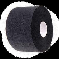 Воротнічок для перукарів еластичний, паперовий Чорний (100шт\рул, 5рул\пач.)