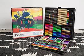 Большой художественный набор для рисования в чемоданчике Colorful Italy 258 предметов
