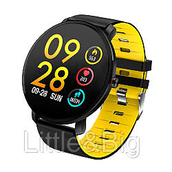 Смарт-часы влагостойкие AZhuo Digital Smartwatch K9 IP68 Black/Yellow (B6091219)