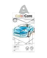 Карандаши цветные Marco Color Core 24 цвета (3100-24CB)