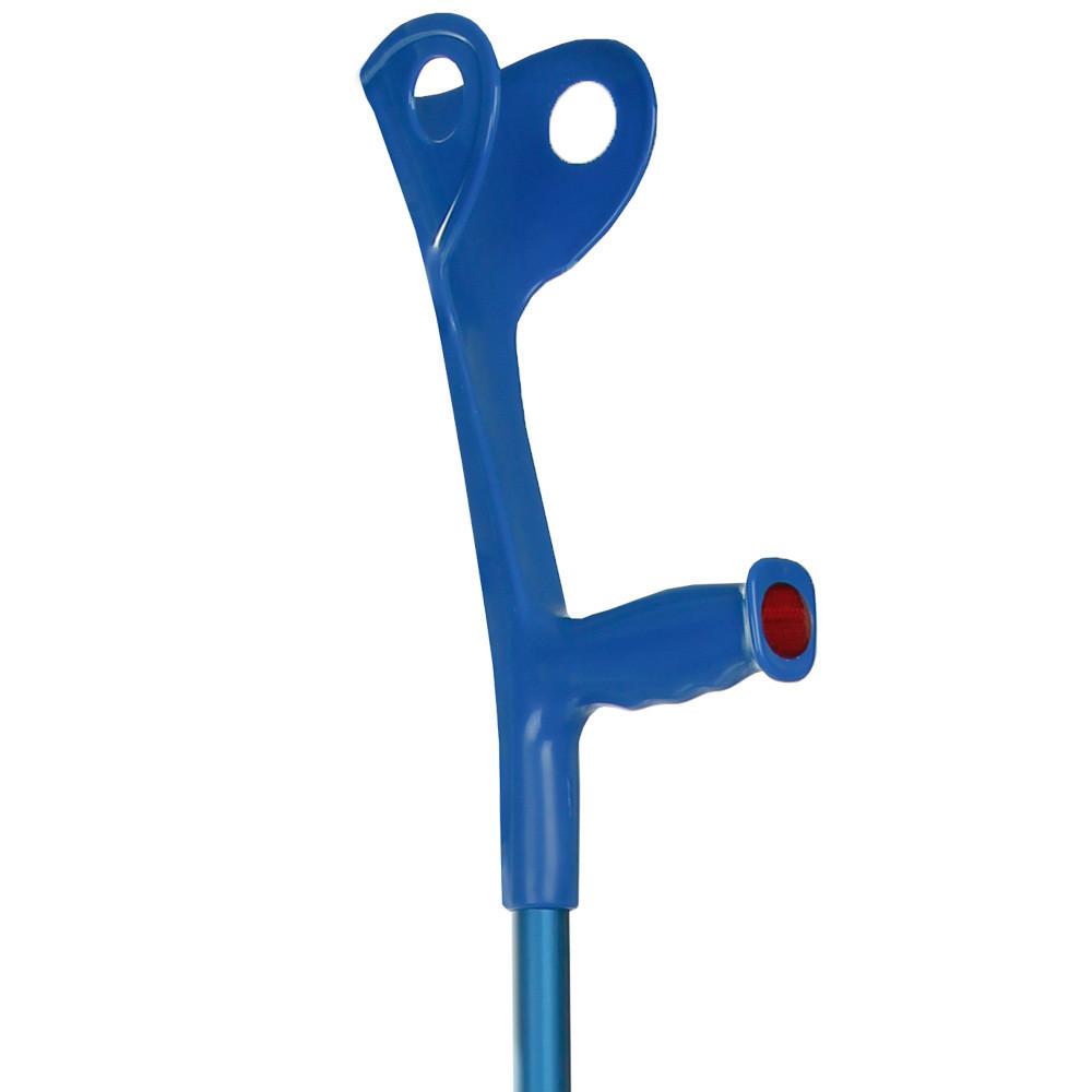 Костыль подлокотный (синий)