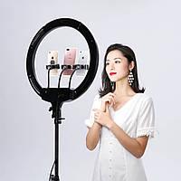 Кольцевая селфи-лампа 50 Вт.  45см