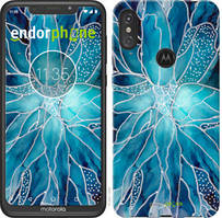 "Чехол на Motorola Moto E6 Plus чернило ""4726u-1780-535"""