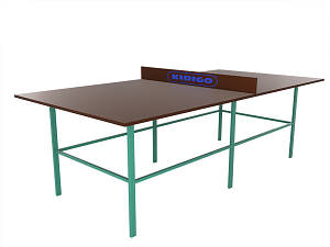 Теннисный стол без сетки Kidigo (22-15-03.1/6)