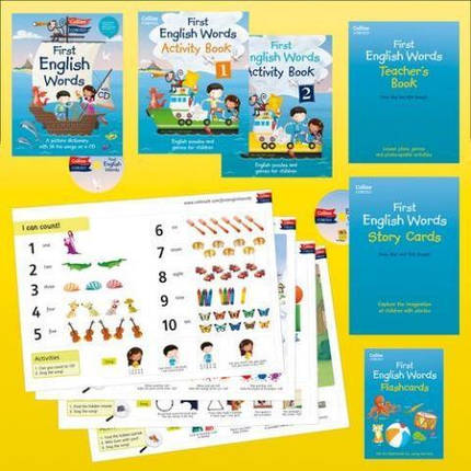 First English Words Activity Pack, фото 2