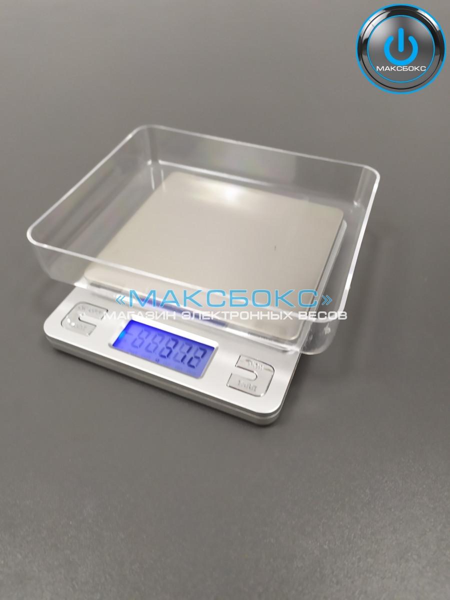Ювелирные весы до 3 кг с двумя чашами Н-3000 (0,1)