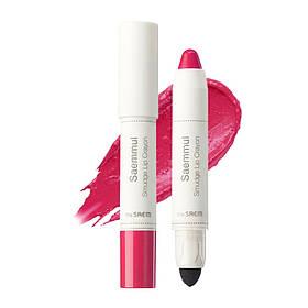Помада-олівець для губ The Saem Saemmul Smudge Lip Crayon - PK02 3,5 г (8806164135471)