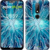 """Чехол на Nokia 6.1 Plus чернило """"4726u-1539-535"""""""