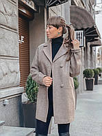 """Пальто женское стильное из шерсти """"Анаи"""""""