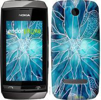 "Чехол на Nokia Asha 305 / 306 чернило ""4726u-248-535"""