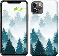 """Чехол на iPhone 11 Pro Акварельные Елки """"4720c-1788-535"""""""